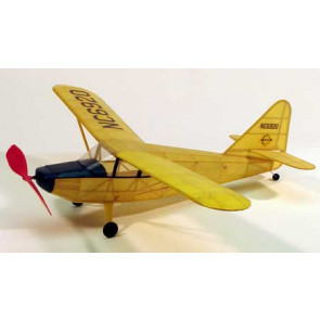 Dumas Stinson Voyager Walnut 17.5Inch Wingspan Rubber Powered 203