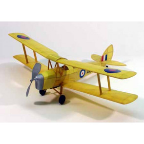 Dumas Tiger Moth 17.5Inch Wingspan Rubber Powered 208