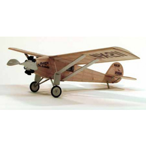 Dumas Spirit Of ST. Louis Walnut 17.5inch WingSpan Rubber Powered 209