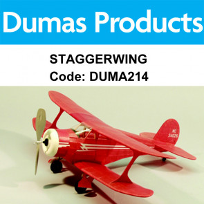 Dumas Staggewing Walnut 17.5Inch Rubber Powered 214