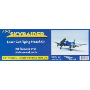 Dumas US Navy AD-2 Skyraider Rubber Kit 30in 327