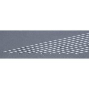 Evergreen Strips Styrene Plastic .010x.040Inch (0.25x1x355mm) (10pc) 102