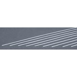 Evergreen Strips Styrene Plastic .010x.080Inch (0.25x2x355mm) (10pc) 104