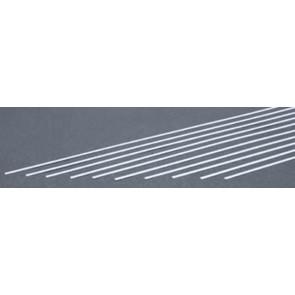 Evergreen Strips Styrene Plastic .010x.100Inch (0.25x2.5x355mm) (10pc) 105