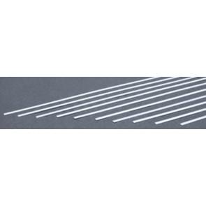 Evergreen Strips Styrene Plastic .010x.125Inch (0.25x3.2x355mm) (10pc) 106