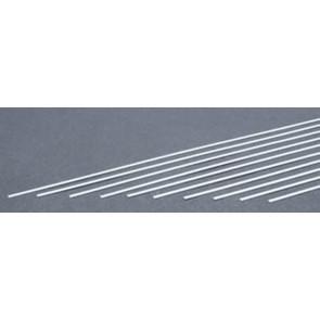 Evergreen Strips Styrene Plastic .010x.025Inch (0.25x6.3x355mm) (10pc) 109