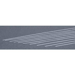 Evergreen Strips Styrene Plastic .015x.030Inch (0.4x0.75x355mm) (10pc) 111