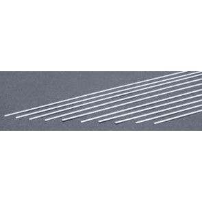 Evergreen Strips Styrene Plastic .015x.080Inch (0.4x2x355mm) (10pc) 114