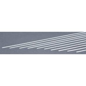 Evergreen Strips Styrene Plastic .015x.125Inch (0.4x3.2x355mm) (10pc) 116