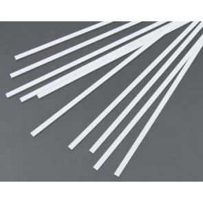 Evergreen Strips Styrene Plastic .015x.156Inch (0.4x4x355mm) (10pc) 117