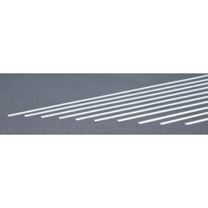 Evergreen Strips Styrene Plastic .015x.188Inch (0.4x4.8x355mm) (10pc) 118