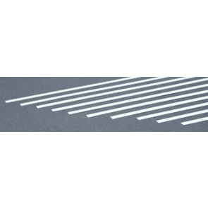 Evergreen Strips Styrene Plastic .015x.250Inch (0.4x6.3x355mm) (10pc) 119