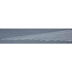 Evergreen Strips Styrene Plastic .020x.060Inch (0.5x1.5x355mm) (10pc) 123