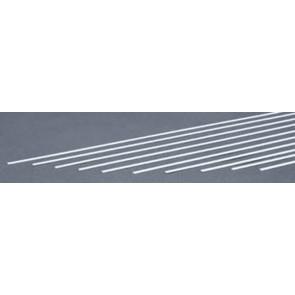 Evergreen Strips Styrene Plastic .020x.125Inch (0.5x3.2x355mm) (10pc) 126