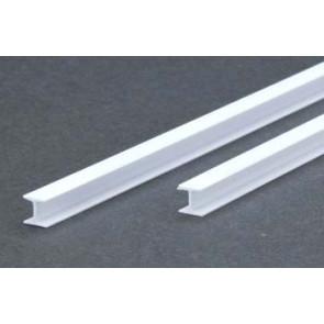 Evergreen H Column Styrene Plastic .100Inch (2.5x355mm) (4pc) 283