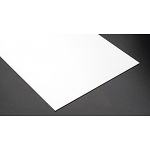 Evergreen Clapboard Styrene Plastic .060inch (1.5mm) spacing 1mm thick 12x6inch (152x305mm) (1pc) 4061