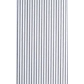 Evergreen Metal Siding Styrene Plastic .060inch (1.5mm) spacing 1mm thick 12x6inch (152x305mm) (1pc) 4527