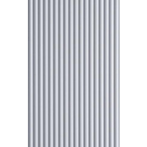 Evergreen Metal Siding Styrene Plastic .100inch (2.5mm) spacing 1mm thick 12x6inch (152x305mm) (1pc) 4529