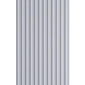 Evergreen Board & Batten Styrene Plastic .125inch (3.2mm) spacing 1mm thick 12x6inch (152x305mm) (1pc) 4544