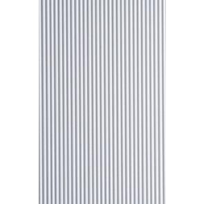 Evergreen Metal Siding Styrene Plastic .060inch (1.524mm) spacing 1.01mm thick 30x60cm (1pc) 14527