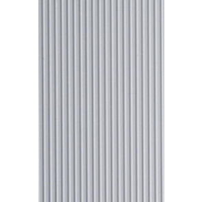 Evergreen Board & Batten Styrene Plastic .075Inch (1.9mm) spacing 1mm thick 12x24inch (305x610mm) (1pc) 145