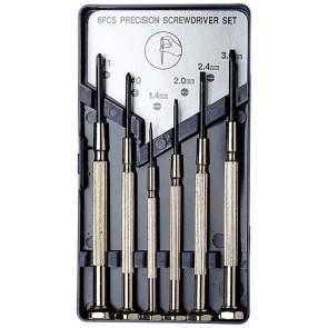 Excel 6 Piece Precision Screwdriver Set 55662