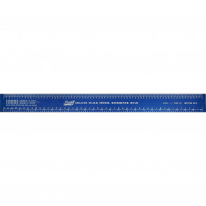 Excel Deluxe Scale Model Reference Ruler 12Inch 55779