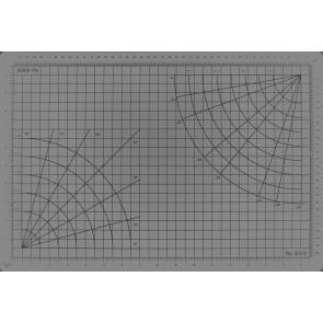 Excel Self Healing Cutting Mat 18X24INch Clear 60032