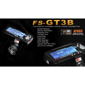 FlySky 3ch 2.4ghz Digital Radio fs-gt3b