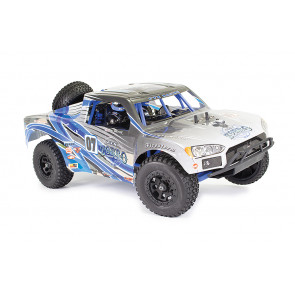 FTX 1/10 Zorro Trophy Truck EP Brushed 4WD RTR Blue 5556b