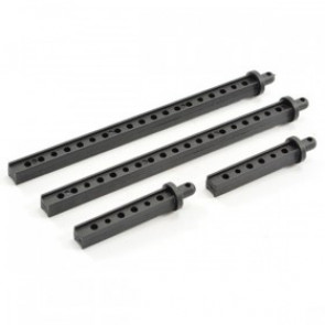 FTX Front And Rear Body Post Set Outback 8156