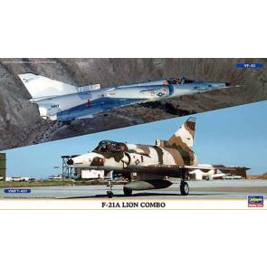 Hasegawa 1/72 F-21A Lion Combo (2 kits) 00986