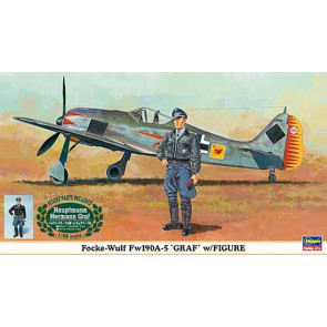 Hasegawa 1/48 Focke-Wulf Fw190A-5 Graf w/Hermann Graf F 09893