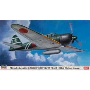 Hasegawa 1/48 Mitsubishi A6M3 Zero Type 22 201st Ltd. 09919