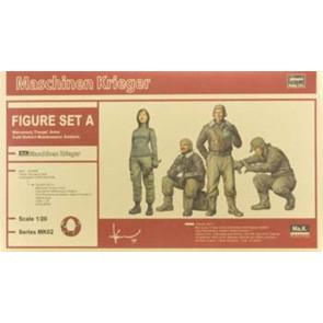 Hasegawa 1/20 Ma.K Figure Set A Mercenary Troops 64002