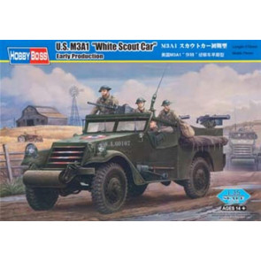 Hobby Boss 1/35 M3A1 Scout Car White-Early 82451