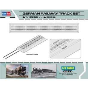 Hobby Boss 1/72 German Railway Track Set 82902