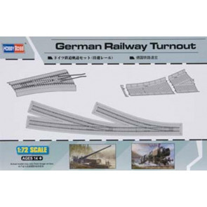 Hobby Boss 1/72 German Railway Turnout Track 82909