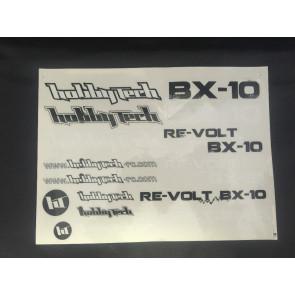 Hobbytech Revolt Decal Set STICKREV.BX10