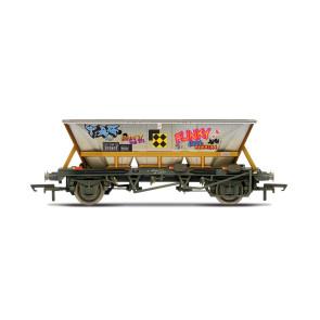 Hornby BR HAA wagon with graffiti 355855 | OO Scale r6961