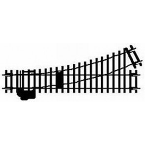 Hornby Left Hand Point Track r8072