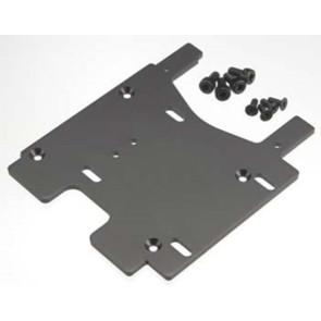 Hpi Motor Plate 3.0Mm 7075/Gray 100906