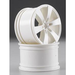 Hpi Wheel Q6 Wheel White Savage (2) 3011