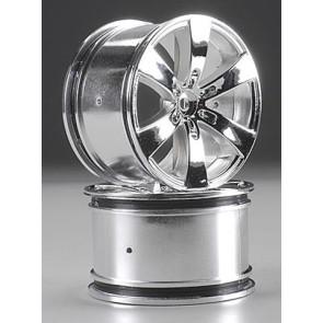 Hpi Wheel Q6 Wheel Chrome Savage (2) 3013
