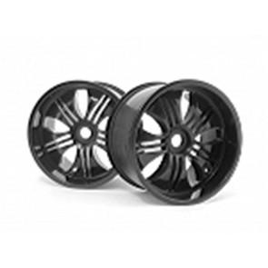 Hpi Wheel Tremor Wheel Black 115X70Mm 7In (2) 3251