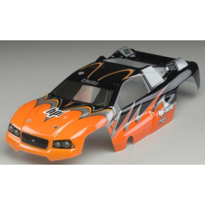 Hpi Body Dsx Painted Body Stroke Graphics Orange/Blk 7795