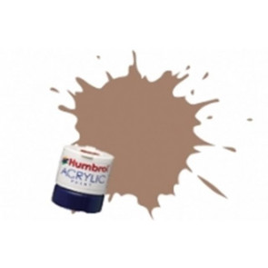 Humbrol Acrylic Paint 12ml Matt Tan humb0118