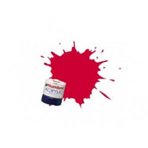 Humbrol Acrylic Paint 14ml Arrow Red Gloss humb0238
