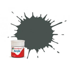 Humbrol Acrylic Paint 244 Grun Matt - 14ml hum244a