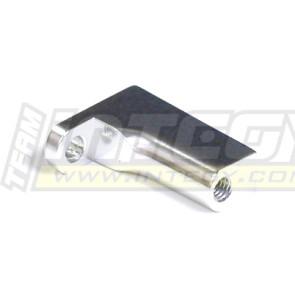 Integy alloy rear body & pin mount for traxxas revo silver t3106